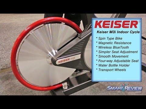 Keiser M3i Indoor Cycle Bike Demo | Magnetic Cycling Bike | M3 Series | Latest Model