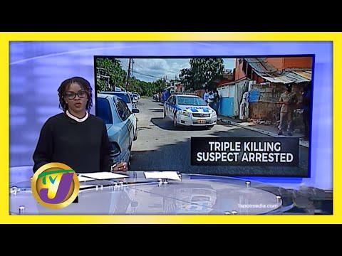Suspect Held in Lincoln Avenue Triple Killing in Jamaica   TVJ News