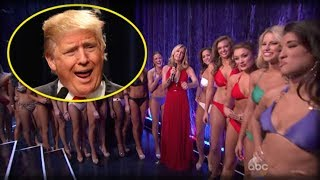 HORROR SHOW: LAST NIGHT MISS AMERICA DID SOMETHING UNFORGIVABLE TO PRESIDENT TRUMP