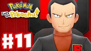 Pokemon Let's Go Pikachu and Eevee - Gameplay Walkthrough Part 11 - Team Rocket Hideout!