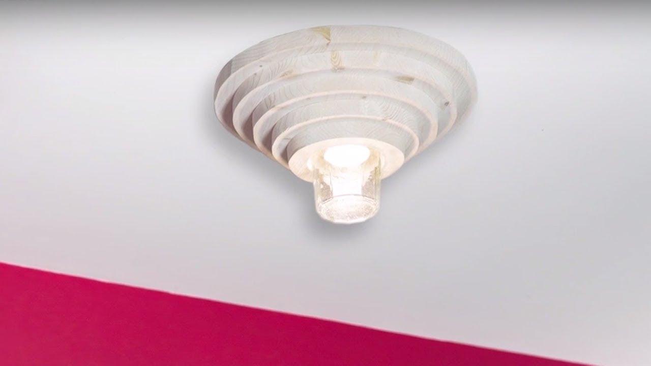 Deckenlampe Selber Bauen Anleitung : project tutorial deckenlampe selber bauen youtube ~ Watch28wear.com Haus und Dekorationen