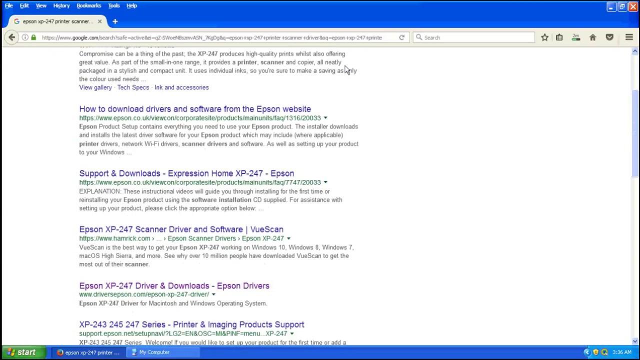 Epson scanner driver software download
