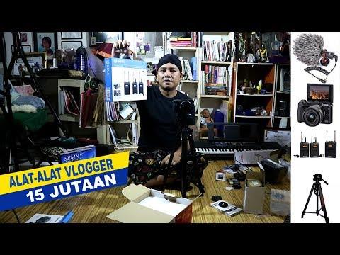 REVIEW ALAT ALAT VLOGGER 15 JUTAAN - LENGKAP