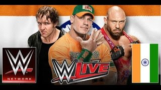 *Watch WWE LIVE In INDIA 2016 Live Streaming tensports.com online