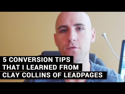 Little Known Facts About Clay Collins Leadpages.