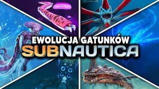 Jak Wyglądała Ewolucja WSZYSTKICH Gatunków  z Subnautica?