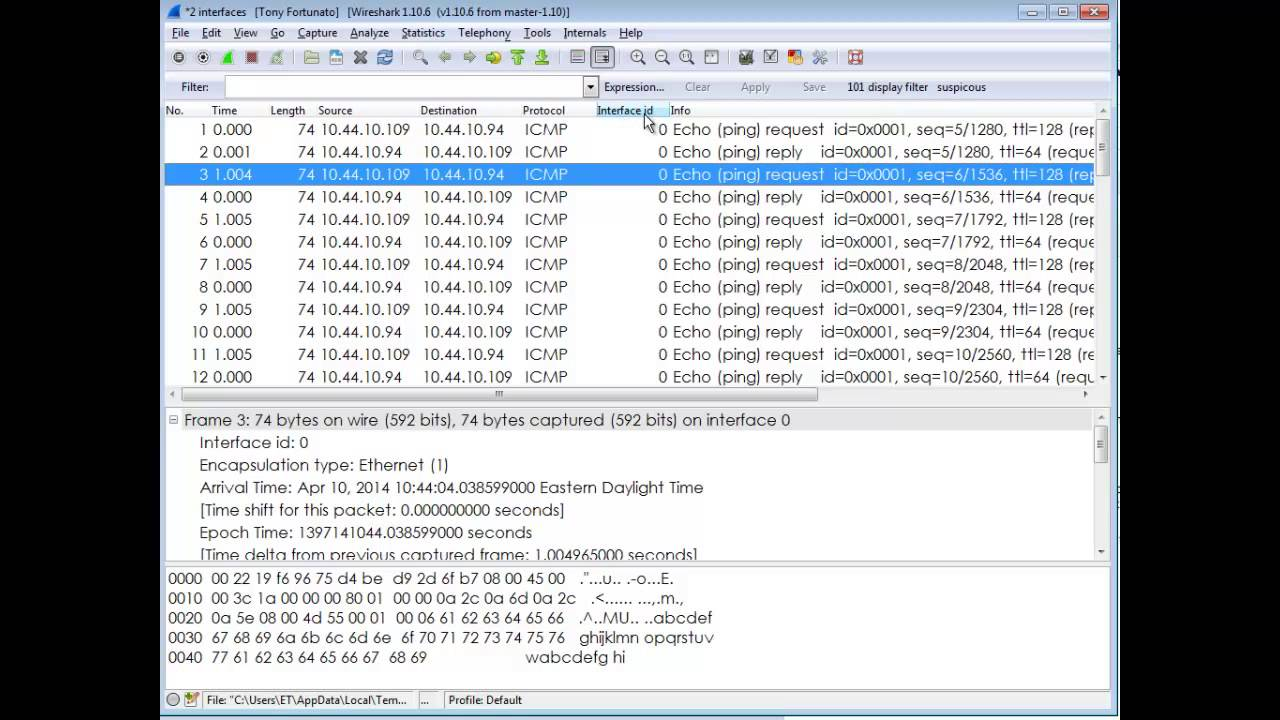 wireshark limitations