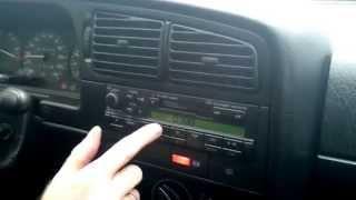 Ввод кода оригинальной автомагнитолы  Volkswagen Passat b4