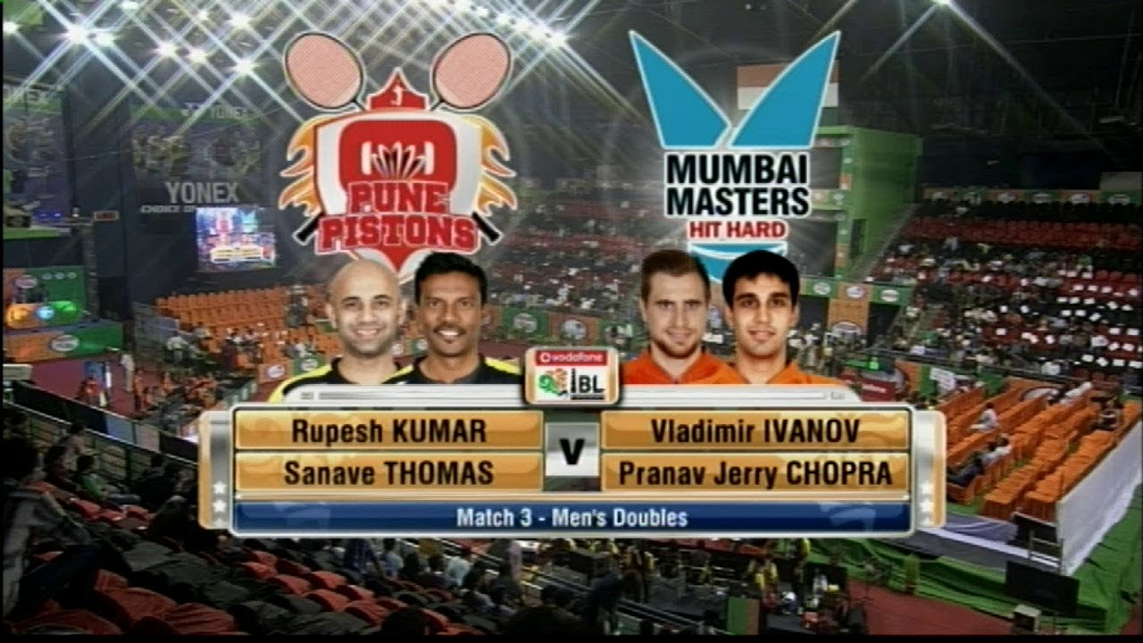 R Kumar & S Thomas Vs V Ivanov & PR Chopra Men s Doubles