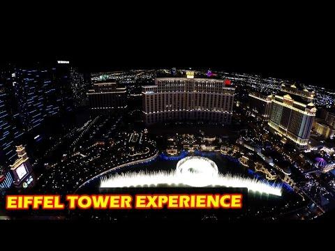 Eiffel Tower Experience Las Vegas in 4K at Paris Hotel & Casino