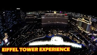 Eiffel Tower Experience Las Vegas in 4K at Paris Hotel & Casino(Subscribe for more video's: http://bit.ly/155VRAH Check out my channel: http://bit.ly/189mgZ9 Follow me on Twitter: http://www.twitter.com/Vegasinfo_NL Like me ..., 2015-04-19T19:12:45.000Z)