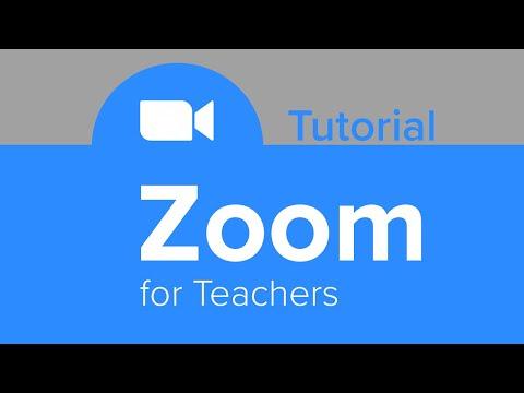 ZOOM for Teachers Tutorial
