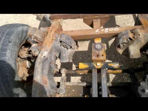 Four wheel steering trailer Part 1