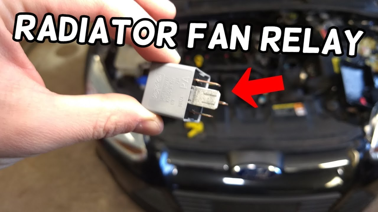 RADIATOR COOLING FAN RELAY LOCATION AND REPLACEMENT FORD ...