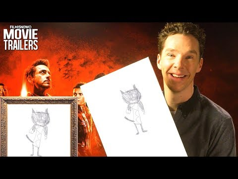 "AVENGERS: INFINITY WAR | The Cast Play ""Guess The Character"" from Kids Drawings"