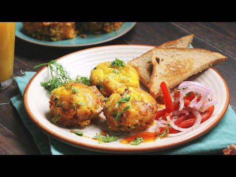 Gobble | Paneer Egg Muffins | Easy Snacks