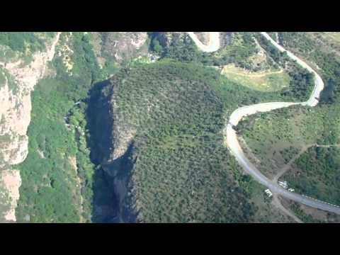 Տաթեվի ճոպանուղի  Татевская канатная дорога  Aerial Tramway And Tatev Monastery And