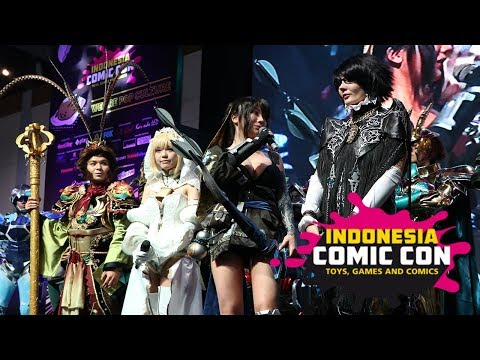 Championship of Cosplay Indonesia Comic Con 2017