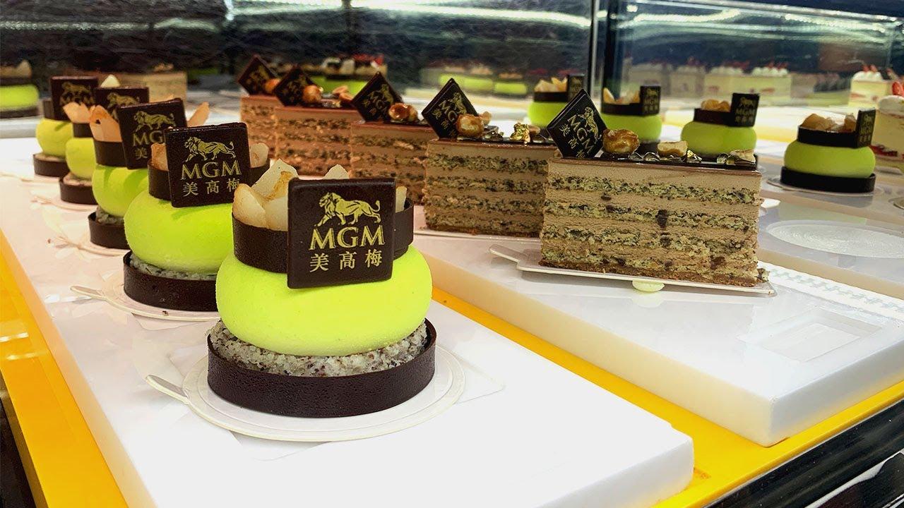 20蚊一塊 澳門五星級酒店 超優質蛋糕? Macau MGM cake buy one get one free - YouTube