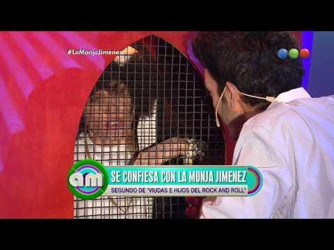 Juan Minujín se confiesa con la Monja Jiménez, parte 1 - AM