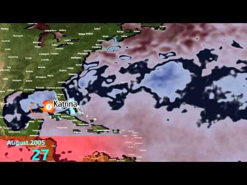 2005 Atlantic Hurricane Season Animation (v.4)
