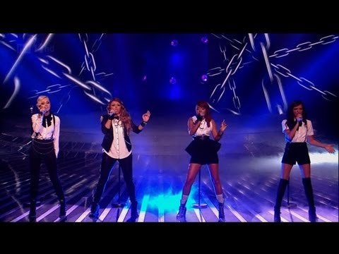 Little Mix are ready to Set It Off - The X Factor 2011 Live Show 7 - itv.com/xfactor