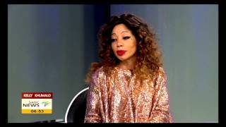 "Kelly Khumalo on her album ""Back To My Roots"""