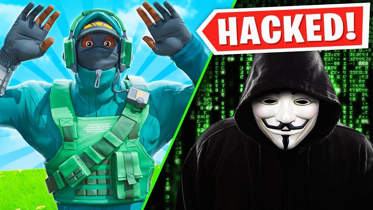 Ich wurde LIVE gehackt, während ich Fortnite spielte.  + video