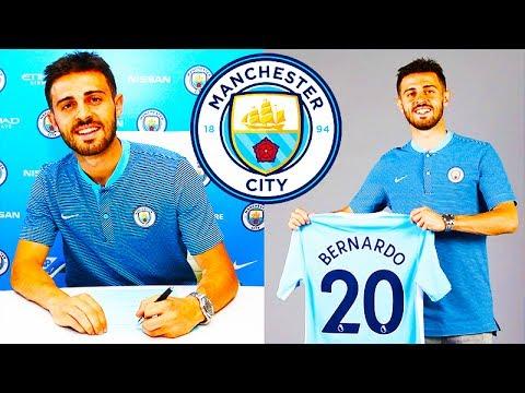 OFFICIAL BERNARDO SILVA SIGNS FOR MANCHESTER CITY F.C