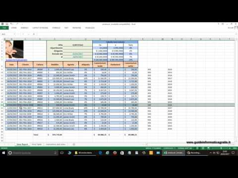 16 - Excel 2013 - come estrarre parti di contenuto di una cella  ?
