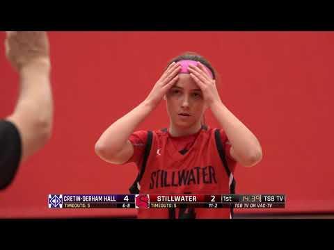 High School Girls Basketball: Cretin-Derham Hall vs. Stillwater