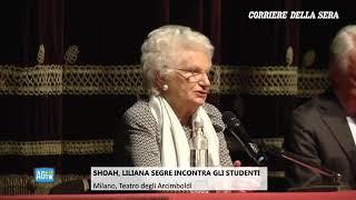La Testimonianza Agli Studenti Di Liliana Segre
