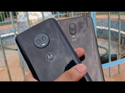 Moto G6 vs OnePlus 6 Camera Comparison!!!