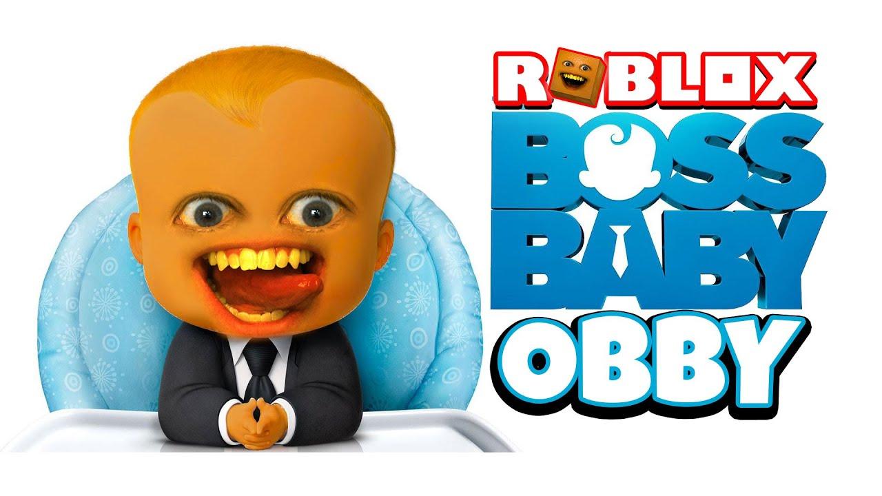 Annoying Orange Roblox Baldi Obby Boss Baby Obby Roblox Youtube