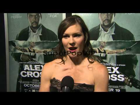 : Bonnie Bentley on her role in Alex Cross, on w...