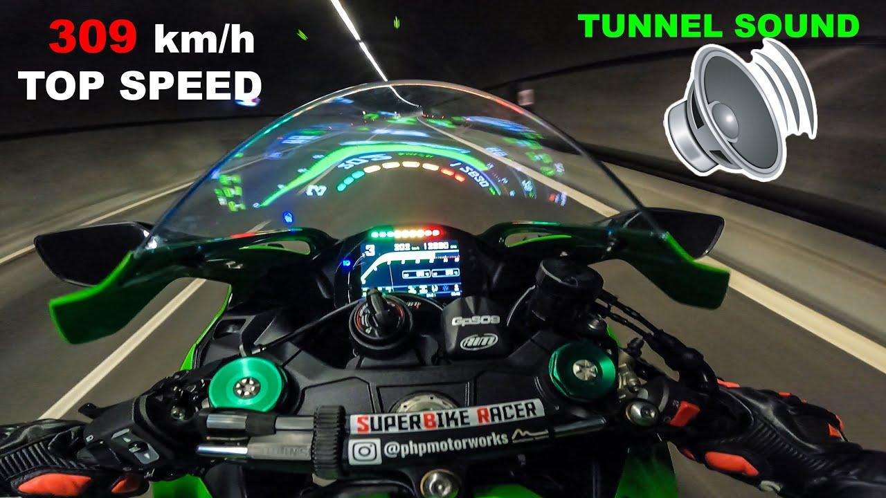 Meet The HULK - Kawasaki Ninja ZX10R Top Speed - Motorway Run