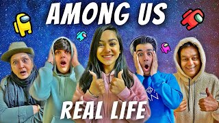 AMONG US IN REAL LIFE WITH MY FAMILY PART 3 | Rimorav Vlogs