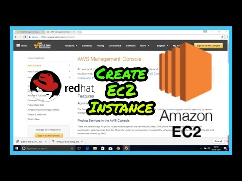 How To Create AWS EC2 Instance | Connect To RedHat Instance (2020)