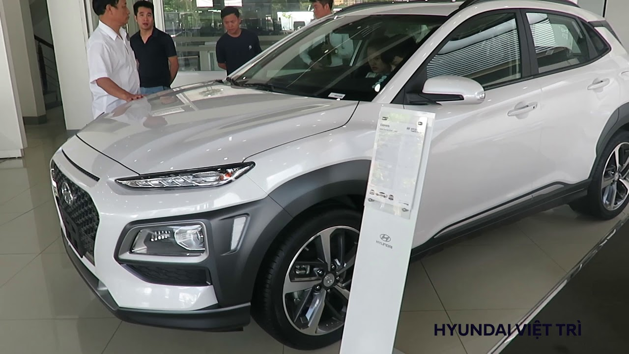 Sức nóng của Hyundai Kona 2018 tại Hyundai việt Trì