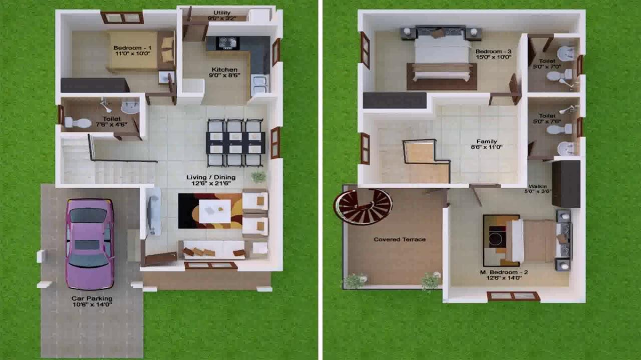 30x50 House Plans East Facing Ground Floor Youtube