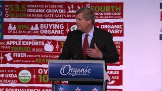 Secretary Tom Vilsack speaking at OTA