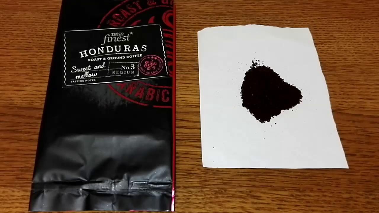Tesco Finest Honduras Roast Ground Coffee Review