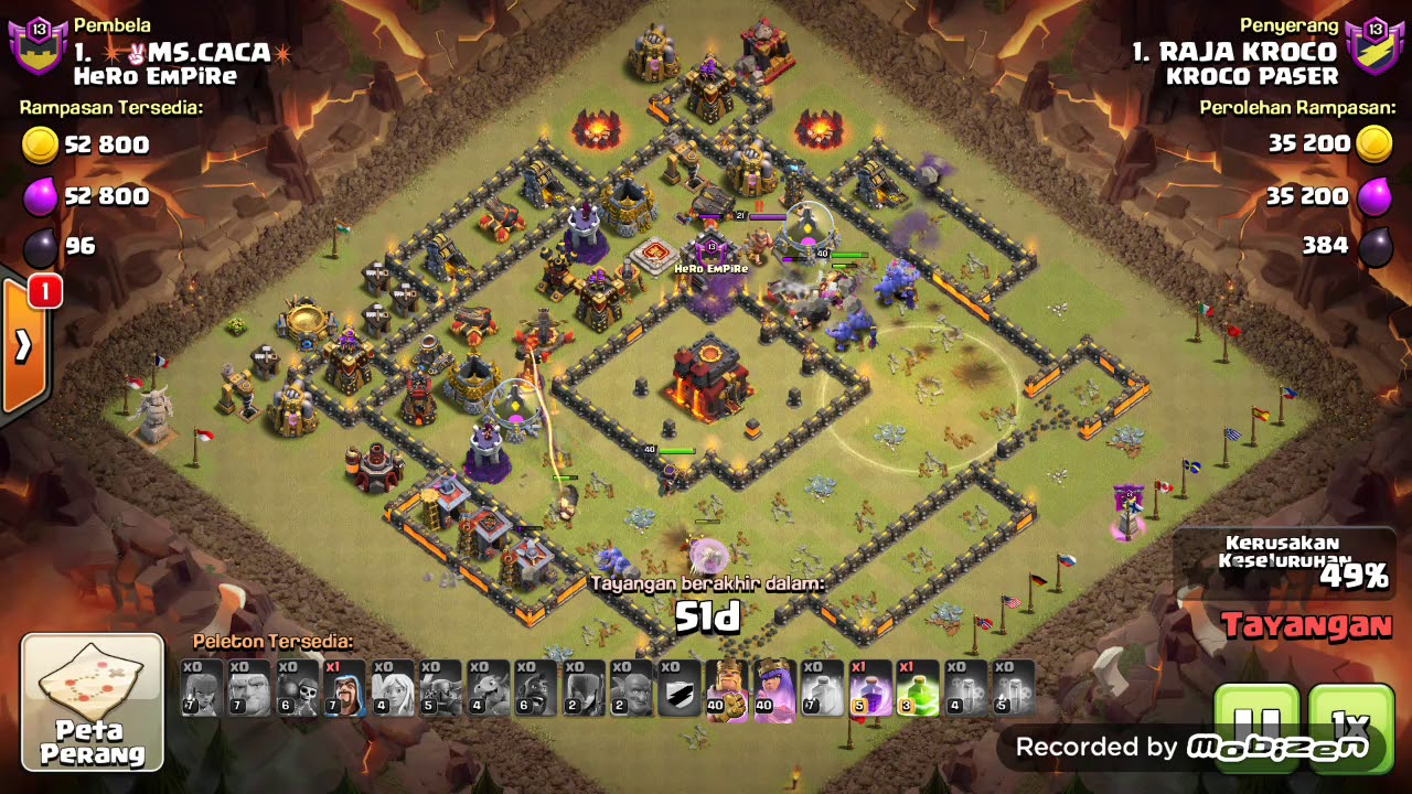 War Th 10 base kotak