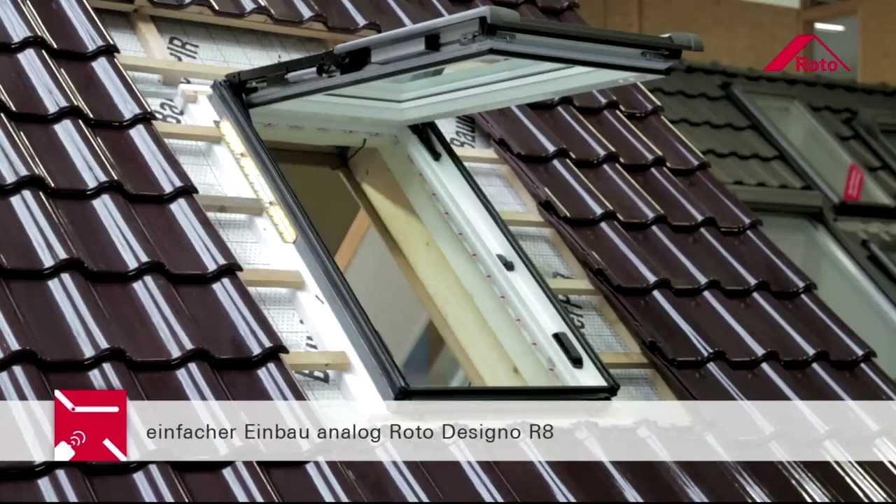 Roto Dachfenster Mit Auenrollo Perfect Hitzeschutz