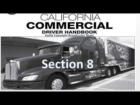 DMV, CDL, Hand Book (Audio) Calif  2018       Section 8 (TANKS)