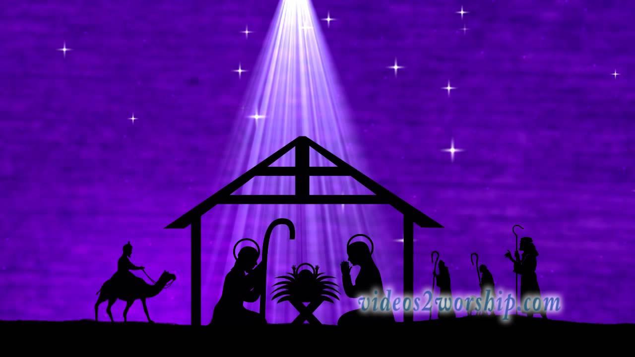 Christmas Manger Worship Motion Background Youtube
