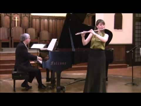 Debussy, Prélude à l'après-midi d'un faune - Mimi Stillman, flute & Charles Abramovic, piano