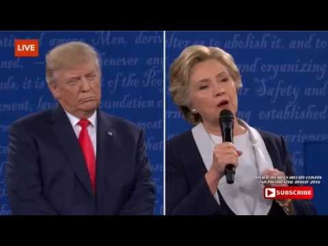 The Best Moment Of The Presidential 2016 Debate Btw Trump Vs Hillary