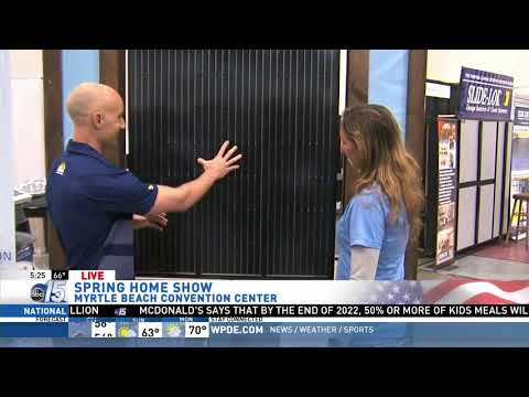 Amanda Live at Home Show with Monarch Roofing - Good Morning Carolinas - WPDE ABC 15