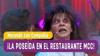 ¡La poseída fue al restaurante de MCC! - Morandé con Compañía 2017